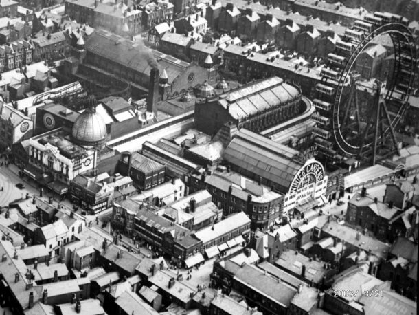 Winter Gardens from the air 1920