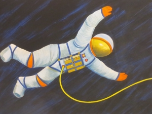 1970 Astronaut Illuminations Design, by Alan Cockcroft © Blackpool Council