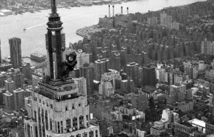 King Kong on the Empire State Building, 1983. Credit: New York Daily News