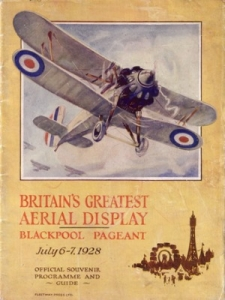 Image above: 1928 Air Pageant. Copyright Blackpool Council