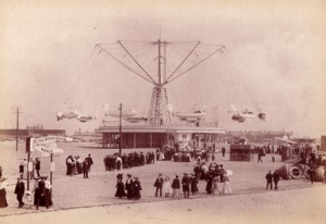 Image above: The Pleasure Beach in 1905. Copyright Blackpool Council