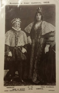 Blackpool Museum Carnival King and Queen 1923