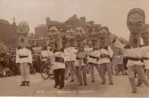 Photograph of 1923 Blackpool Carnival Procession © Blackpool Council