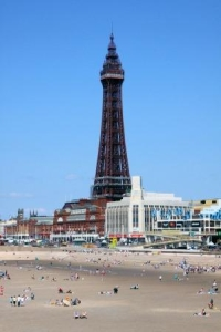 Blackpool seafront is home to a range of grand buildings.