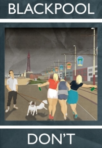 Blackpool - Don't, Rubbish Seaside/Jack Hurley, 2014