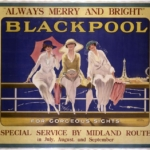 Blackpool For Gorgeous Sights, Great Central Railway/Wilton Williams, c.1919