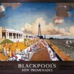 Blackpool's New Promenades, Bonestell, Chesley (artist); London Midland & Scottish Railway, 1923-1948