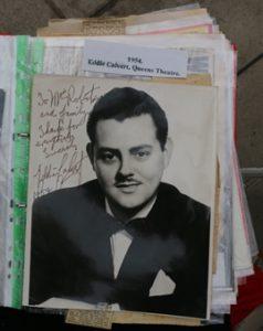 Eddie Calvert signed photo