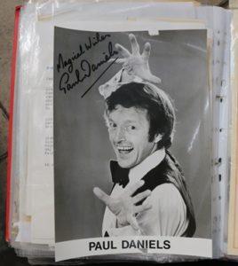 Paul Daniels signed photo